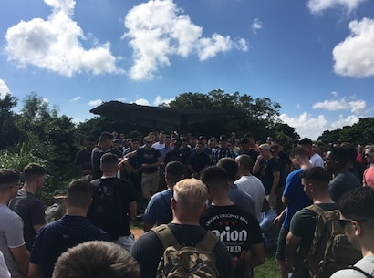 Island Warriors explore historical sites of Okinawa