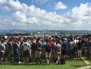 Island Warriors explore historical sites of Okinawa