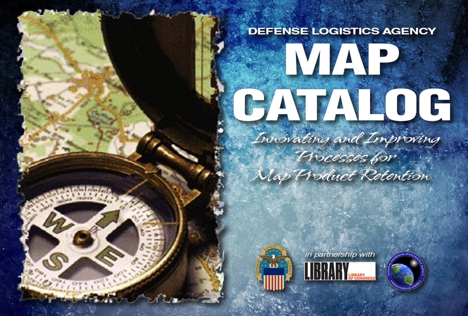 DLA Map Catalog graphic/compass image