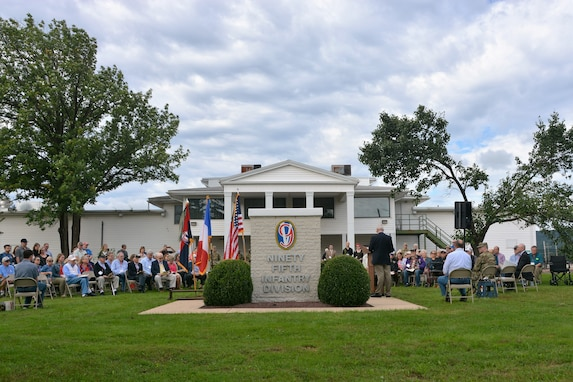 World War II Veterans rededicate monument at Fort Indiantown Gap