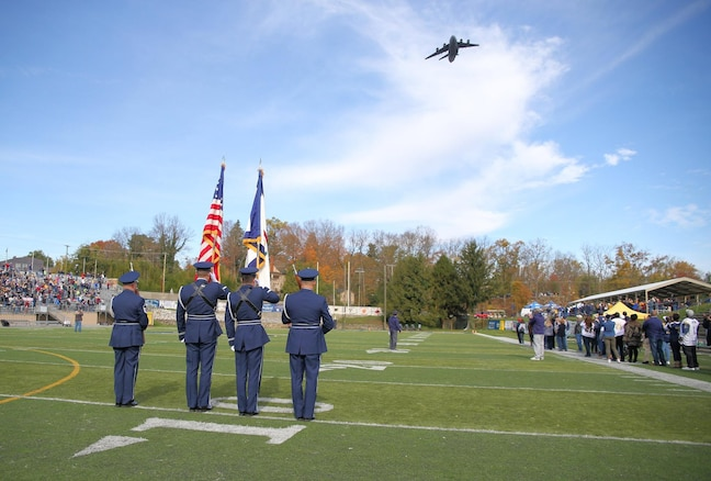 167th Airlift Wing Base Honor Guard, Shepherd University