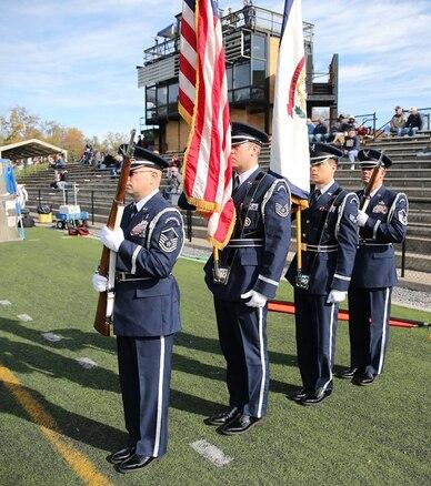167th Airlift Wing Base Honor Guard, Shepherd University