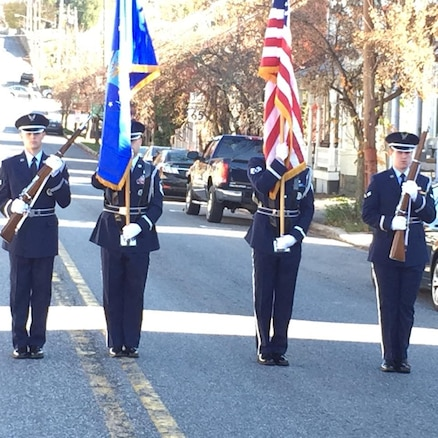 167th Airlift Wing, Sharpsburg, Md.  parade