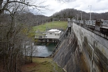 The U.S. Army Corps of Engineers Nashville District invites the public to attend a commemoration to celebrate the 75th Anniversary of Dale Hollow Dam and Reservoir 10 a.m. (Central Standard Time) Friday, Oct. 19, 2018 at the dam's overlook in Celina, Tenn. The dam and reservoir will serve as the backdrop for this historical occasion. (USACE Photo by Lee Roberts)