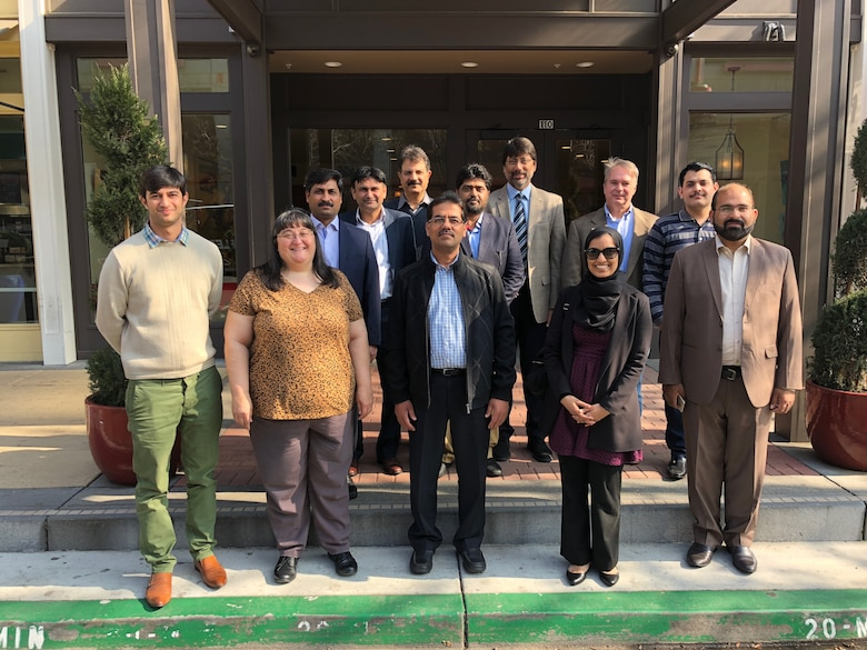 Representatives from Pakistan, the U.S. Army Corps of Engineers, and U.S. State Department during a visit to the United States to share water resources expertise at the USACE Institute for Water Resources Hydrologic Engineering Center in Davis, California.