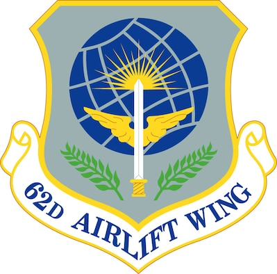 62d Wing Patch