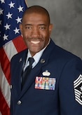 Official photograph of CMSgt Eric Dugger