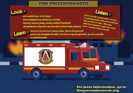 fire truck fire safety fire prevention week