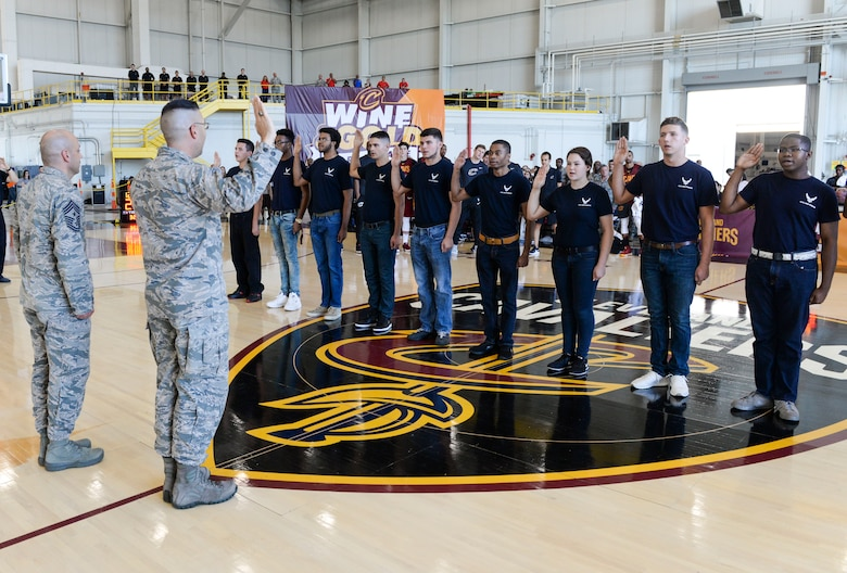 Cleveland Cavaliers Visit Wright-Patterson AFB