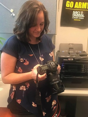 Middle East District Visual Information Specialist, Shannon Hodges, previews photos she shot during the normal routine of her day.
