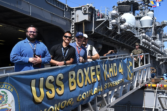 MCTSSA conducts systems operability testing aboard USS Boxer