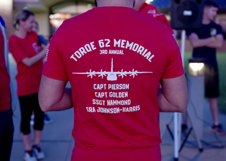 Memorial run honors TORQE 62 Airmen