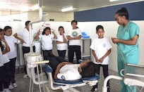 Regional Health Command Central provides pediatric dental services in Honduras