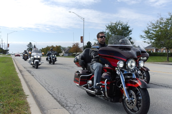 Motorcyclists Ride to Increase Awareness of Veteran Suicides