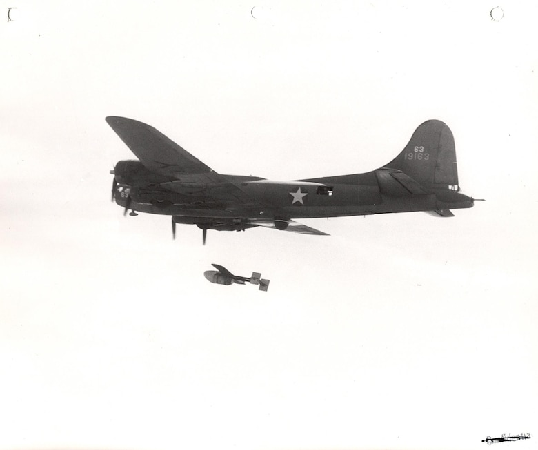 GB-1 dropped from a B-17.