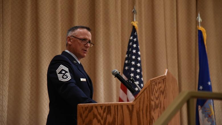 Chief Master Sgt. Mark McDaniel