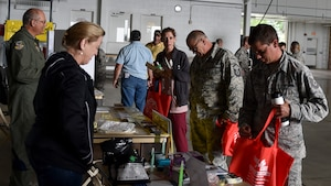 The 910th Airlift Wing hosted a Safety Down Day event in hangar 295 at Youngstown Air Reserve Station on October 10, 2018. The purpose of the event was to remind 910th AW personnel to stay safe and to report any thing or activity that could injure themselves or others.