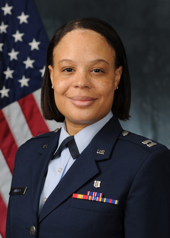 Official photo for Capt. Eanah Whaley.