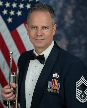 Chief Master Sgt. Kevin Burns official photo