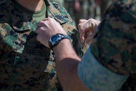 Marine Corps Air Station Camp Pendleton Command Photo and Award Ceremony