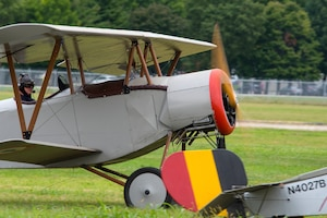 DAYTON, Ohio -- World War I replica aircraft took to the skies during during the eleventh WWI Dawn Patrol Rendezvous at the National Museum of the U.S. Air Force on Sept. 22-23, 2018. (U.S. Air Force photo by Ken LaRock)