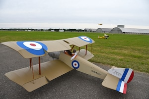 DAYTON, Ohio -- A view of radio controlled aircraft during the eleventh WWI Dawn Patrol Rendezvous at the National Museum of the U.S. Air Force on Sept. 22-23, 2018. (U.S. Air Force photo by Ken LaRock)