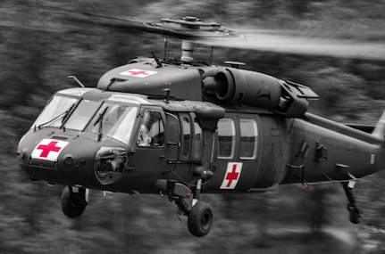 UH-60 Black Hawk MEDEVAC