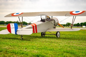 DAYTON, Ohio -- World War I replica aircraft took to the skies during the eleventh WWI Dawn Patrol Rendezvous at the National Museum of the U.S. Air Force on Sept. 22-23, 2018. (Courtesy photo by Courtney Caillouet)