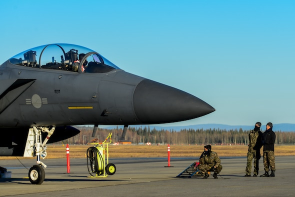 The ROKAF is here for RED FLAG-Alaska 19-1, an exercise aimed to test participating units' combat readiness.