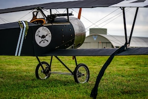 DAYTON, Ohio -- World War I replica aircraft took to the skies during during the eleventh WWI Dawn Patrol Rendezvous at the National Museum of the U.S. Air Force on Sept. 22-23, 2018. (Courtesy photo by Courtney Caillouet)