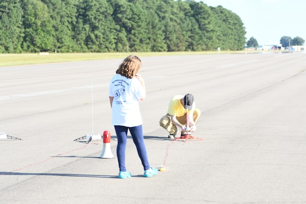 IMAGE: 2018 NSWCDD Centennial Rocket Competition photo.