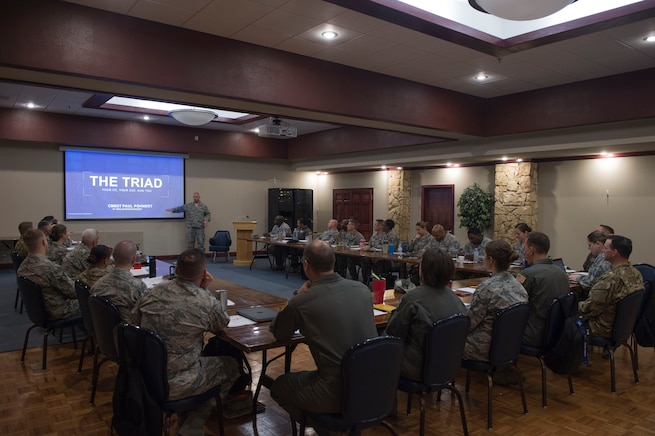Doing more with more: 97 AMW Squadron Superintendents Course