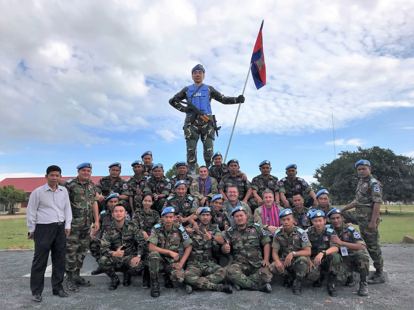 Idaho Guardsmen visit Cambodia to share skills, strengthen ties