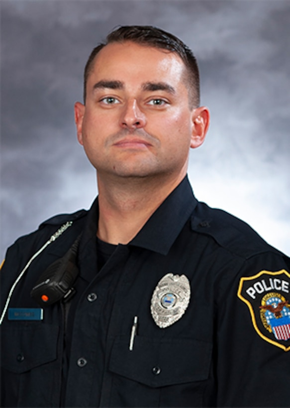 DLA Police Officer Daniel McCombs
