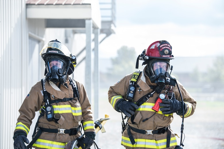 Grissom Firefighters get live fire experience in the