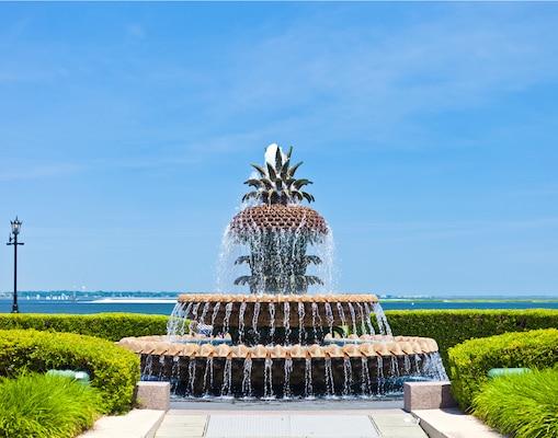 Charleston Waterfront Park-Pineapple Fountain