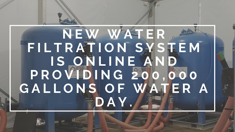 The 366th Civil Engineer Squadron implemented a new water filtration system that effects Well 4 on the base.