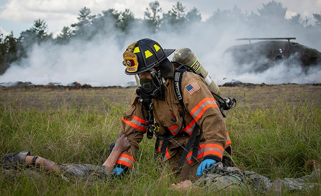 Eglin mass casualty exercise - Rescue
