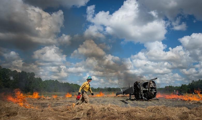 Eglin mass casualty exercise - Fire