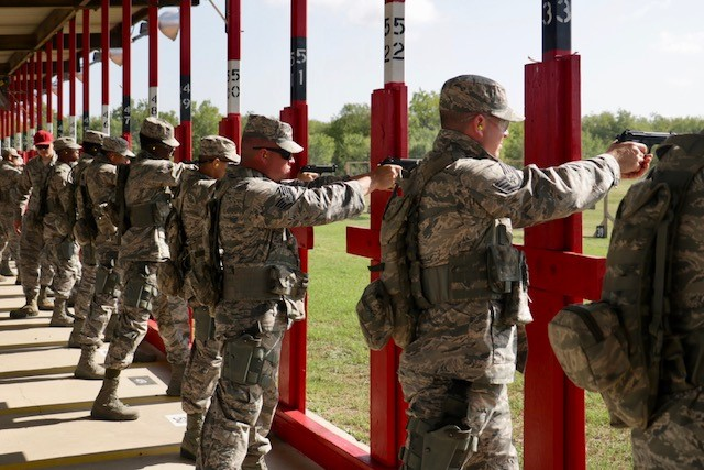 Security Forces Academy adds leadership training course
