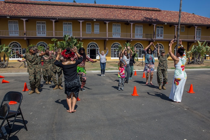 MARINE CORPS RECRUIT DEPOT SAN DIEGO, CALIF. -- Marine Corps Recruit Depot San Diego hosted a Multi-Cultural day to celebrate the contributions of the different cultures in the United States and the military at the MCRD Command Museum, September 27, 2018.