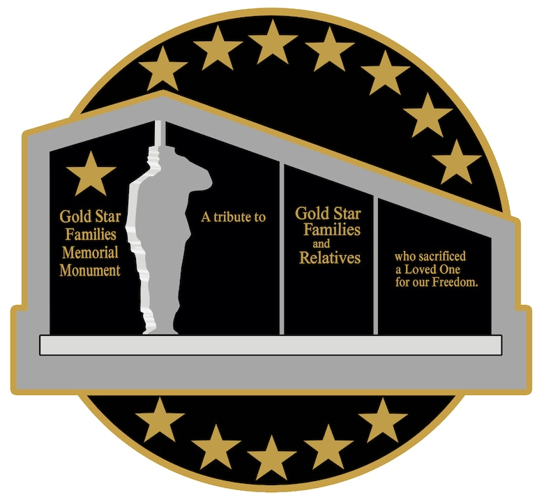 Gold Star Families Logo.