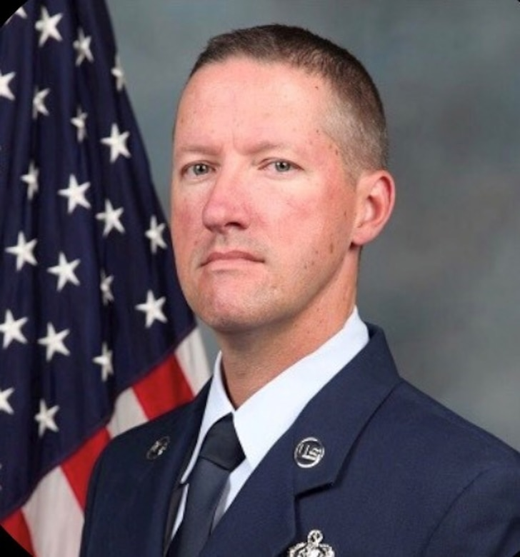 Senior Master Sgt. Clifford Nairn, 60th Communications Squadron Plans and Resources Flight Superintendent, shared some thoughts on safeguarding personal information. (U.S. Air Force Courtesy Photo)