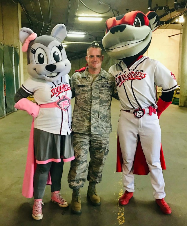 AFRC Recruiter builds major relationship with minor league team