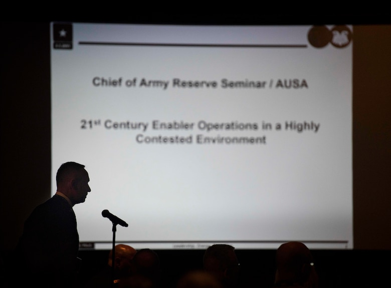 Lt. Gen. Charles Luckey at AUSA