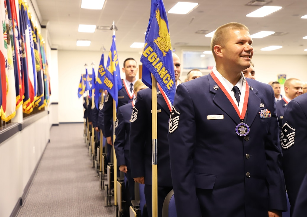 USAF First Sergeant Academy Students