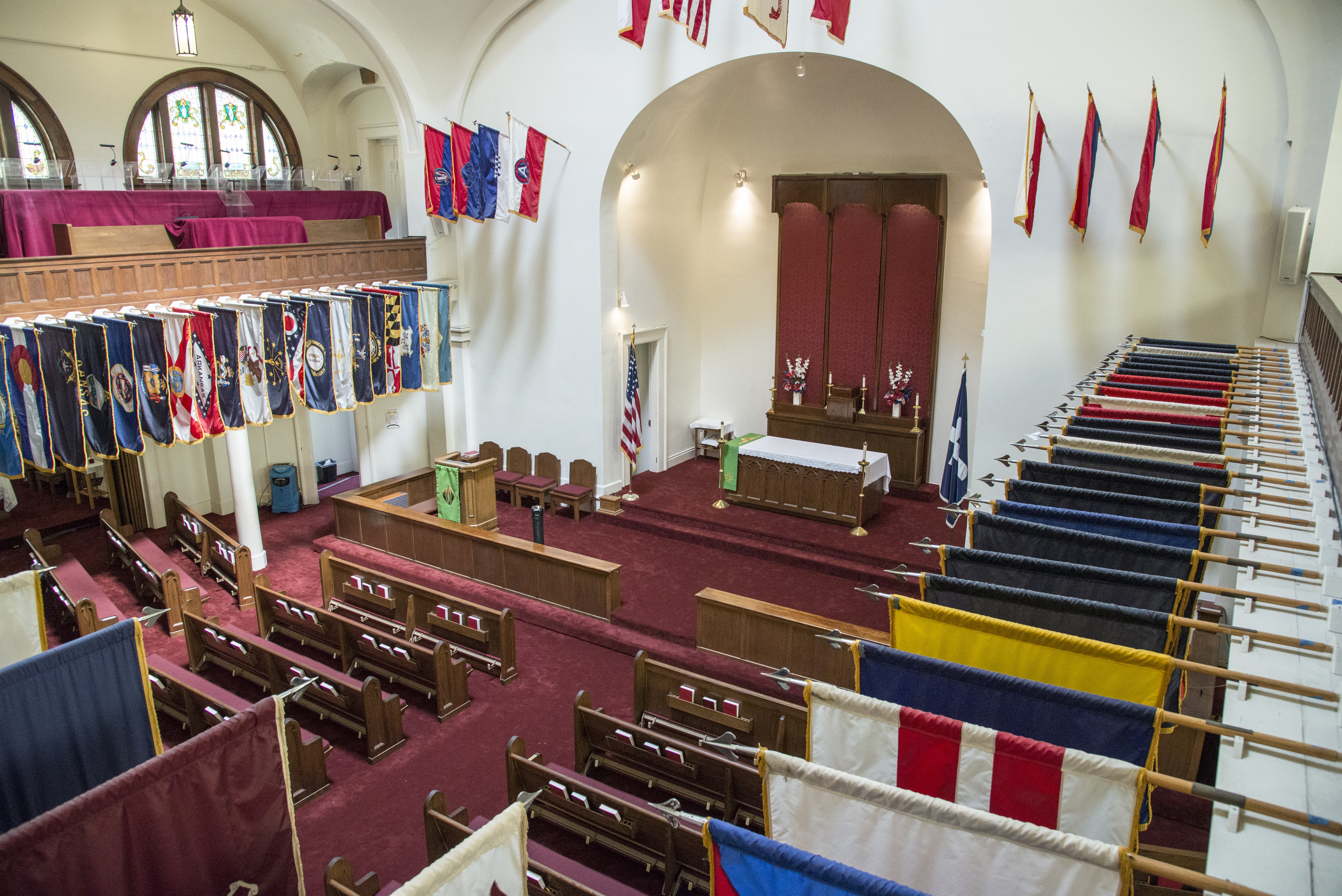 Gift Chapel Stands Out Among Jbsa Fort Sam Houston