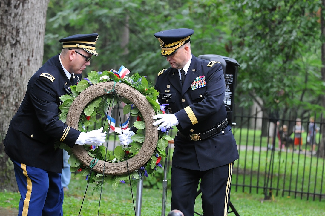 President Hayes Honored During Wreath Laying Ceremony