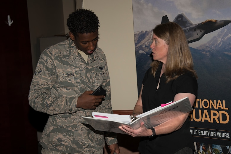 The Airmen & Family Readiness Center assists Airmen who aren't living in their home state with the voting process.
