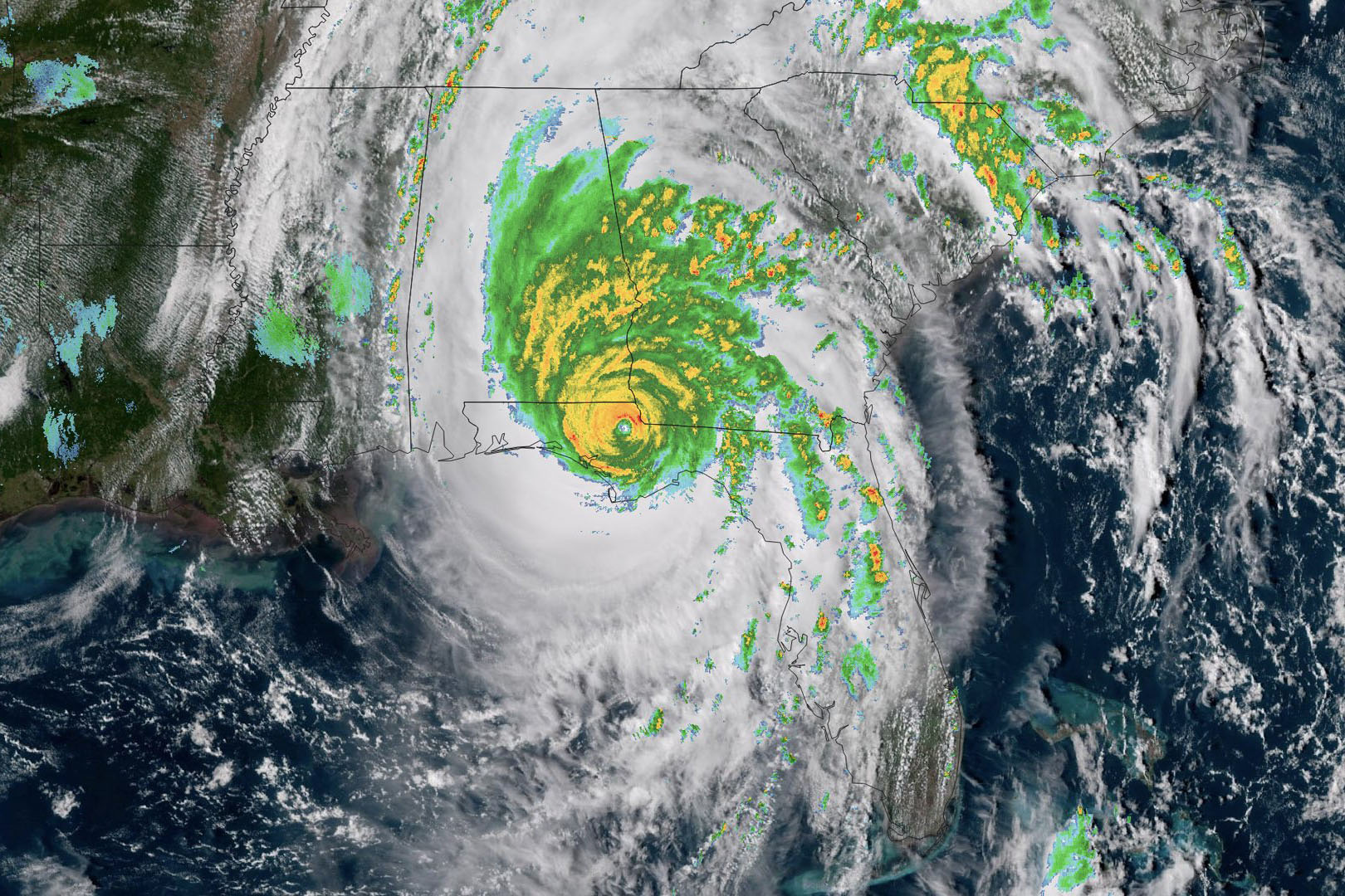 images from hurricane michael - HD1620×1080